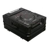 Odyssey FZCDJBL Black Label Front Load Medium Format CD / Digital Media Player Case