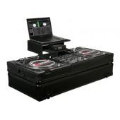 Odyssey FZGSBM12WBL Black Label Glide Style DJ Coffin