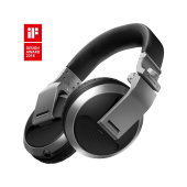 Pioneer HDJ-X5-S Over-ear DJ headphones (silver)