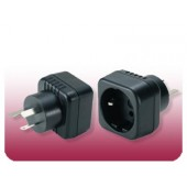 Seven Star Schuko to Australian Grounded Adapter Plug MKV-21