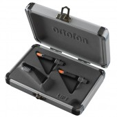 Ortofon Concorde Nightclub MkII CC Twin - Black Body/Orange Stylus