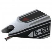 Ortofon S-120 Black-Silver Spherical Replacement Stylus