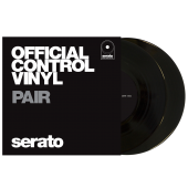 "7"" Serato Performance Series - Black (Pair)"