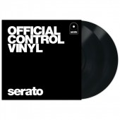 "Serato Standard Colors (Pair) - Black 12"" Control Vinyl pressing"