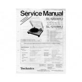 Technics SL1200 / SL1210 MK2 Service Manuals