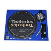 Technics Face Plate in Blue for Technics SL-1200 / SL-1210 M5G Turntable