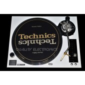 Technics Face Plate in White for Technics SL-1200 / SL-1210 M5G Turntable, Beautiful White