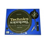 Technics Face Plate in blue for Technics SL-1200 / SL-1210 MK2 Turntables