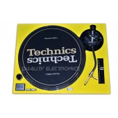Technics Face Plate in Yellow for Technics SL-1200 / SL-1210 MK2 Turntables