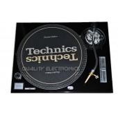 Technics Face Plate in Black for Technics SL-1200 / SL-1210 MK5 M3D Turntables