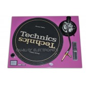 Technics Face Plate in Pink for Technics SL-1200 / SL-1210 MK5 M3D Turntables