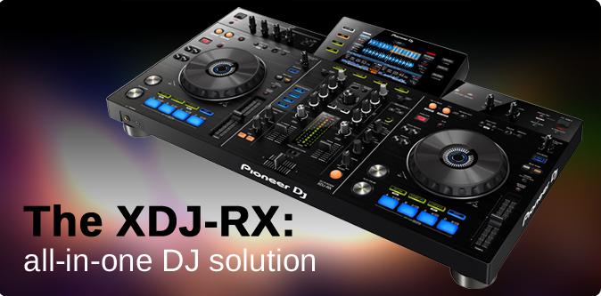 The XDJ RX