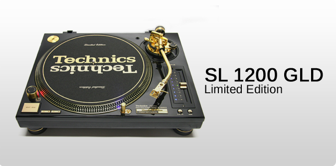 Technics SL 1200 GLD